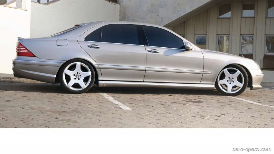 2002 mercedes benz s class s55 amg specifications for Mercedes benz s55