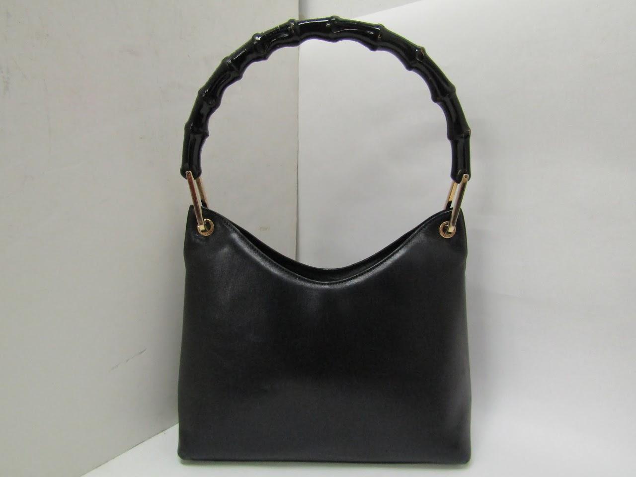 Vintage Gucci Bamboo Strap Bag