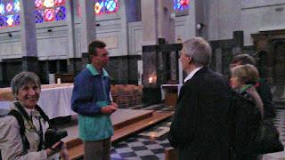 Visite de notre église Saint-Jean-Baptiste à Bruxelles Molenbeek-Saint-Jean mardi 28 juillet 2015 (5)