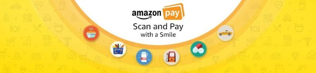 Amazon Scan & Pay – Get 50% Cashback On Scan & Pay Upto Rs.25 (4 Times)
