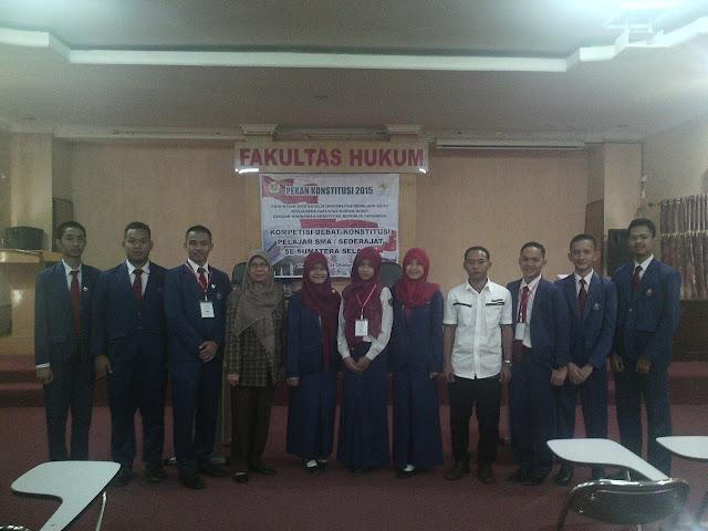 Peranan MK dalam Mengawal Demokrasi dan Politik Ketatanegaraan Indonesia Bekerja Sama dengan UNSRI
