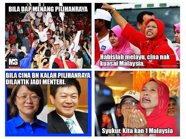 Cina DAP Hancurkan Melayu?