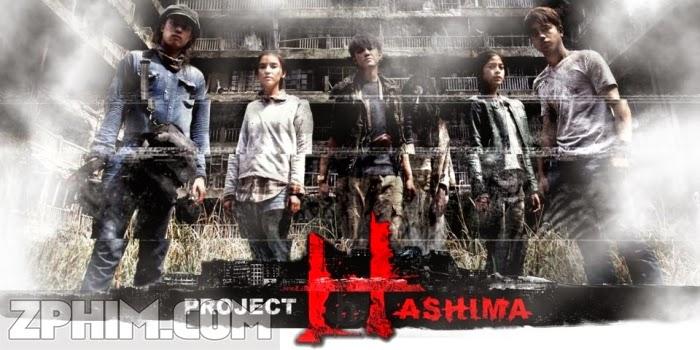 Ảnh trong phim Bí Ẩn Đảo Hashima - H Project 1