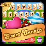 3D Sweet Candy Live Blast Keyboard Theme Icon
