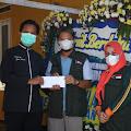 Kebakaran Rumah Milik Mak Uut Yang Menewaskan Tiga orang Penghuninya Dapat Santunan Dari Ketua Jabar Bergerak Kabupaten Subang