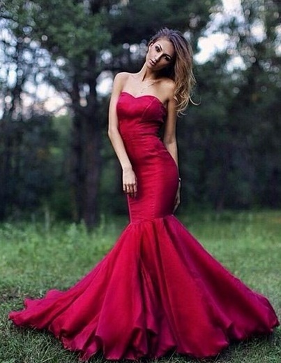 LATEST RED DRESS STYLES FOR AMAZING LADIES IN THIS SUMMER SESSION 1
