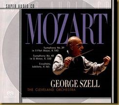 Mozart 39 Szell