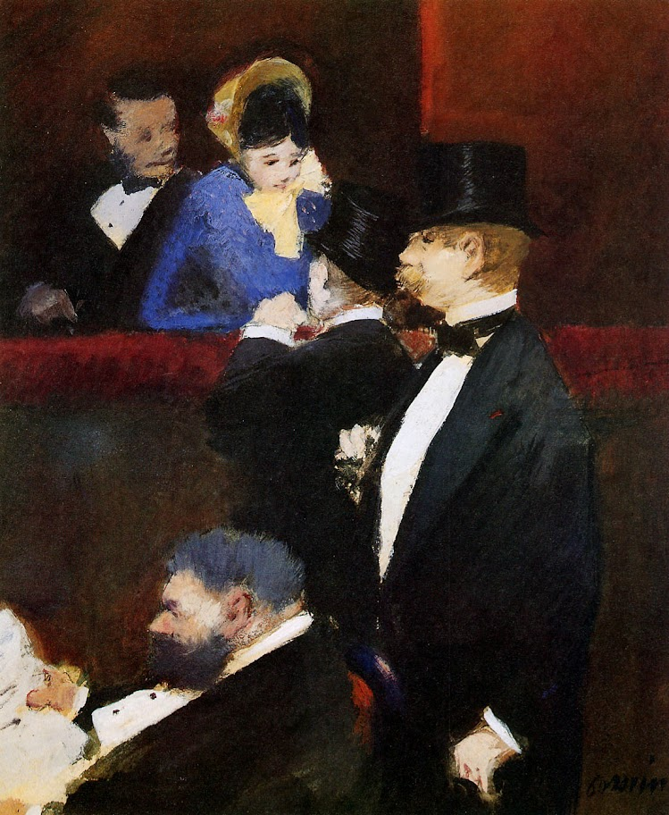 Jean-Louis Forain - Bos at the Opera