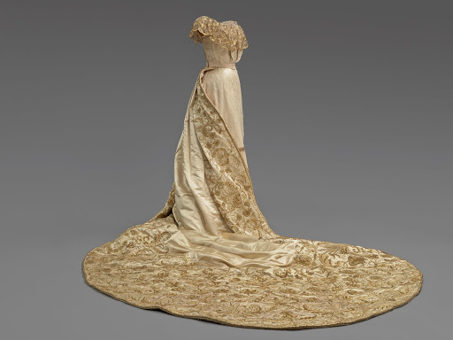 Court Dress of Princess Elizabeth Kinsky. From The Museum of Fine Arts Houston Cloaked in Magnificent Opulence