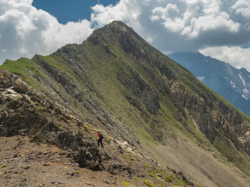 Cresta summital de la Punta Ixabre