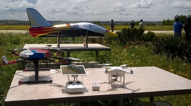 Jet y dron