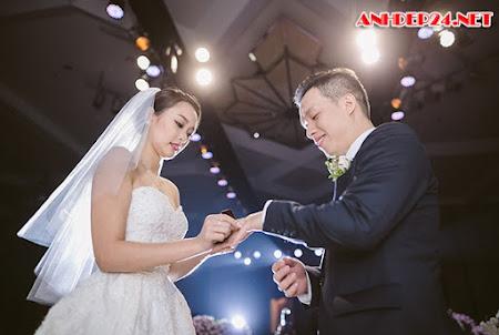 1.000 ngọn nến lung linh trong đám cưới cặp doanh nhân Hà thành