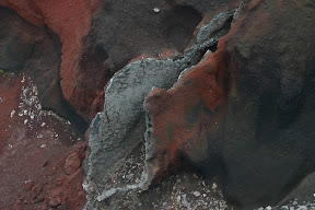 Gash in Red Crater