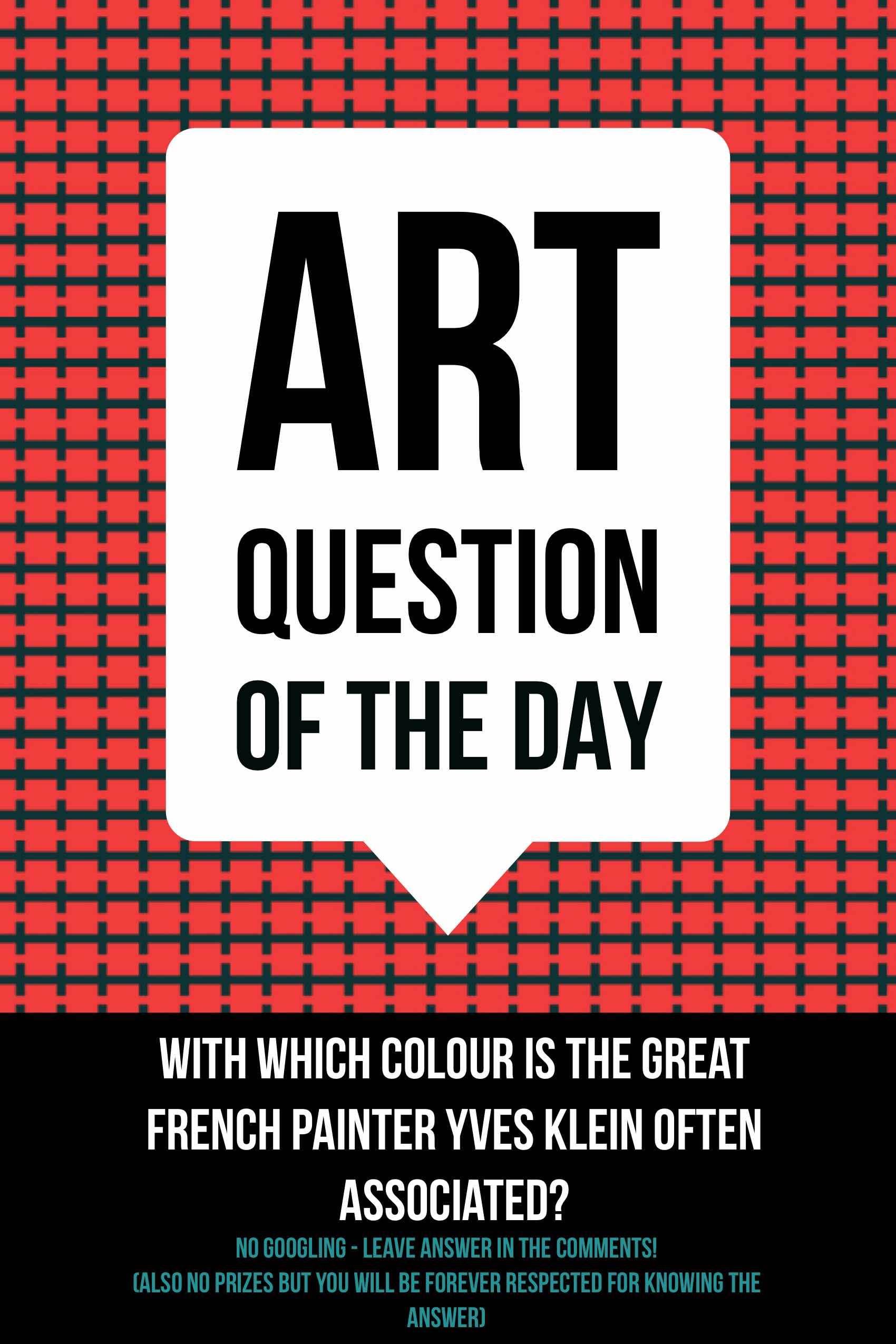 art question of the day
