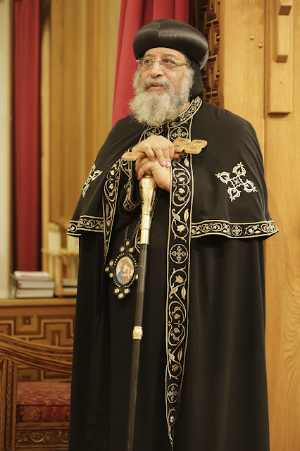 His Holiness Pope Tawadros II visit to St. Mark LA - _09A9162.JPG