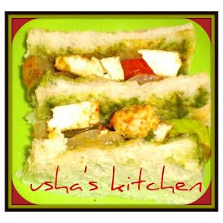 Tandoori Type Sandwich