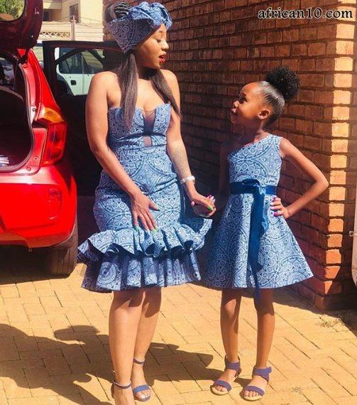 Latest Shweshwe Dresses 2019 South African Styles