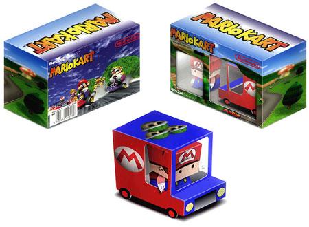 BoxZet Mario Kart Paper Toy