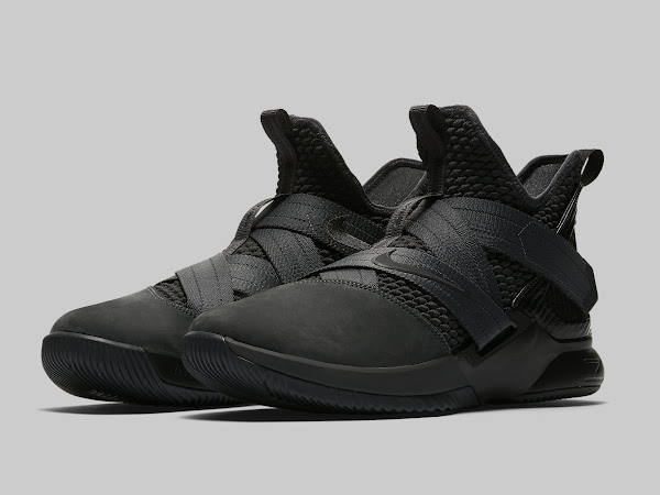 Nike LeBron Soldier 12 SFG Zero Dark Thirty  Release Date