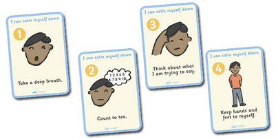 Twinkl Calm Down Cards 2