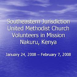 Missions 2008-01 to 02 VIM Nakuru Kenya