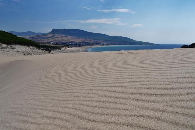 Big sand dune Bolonia