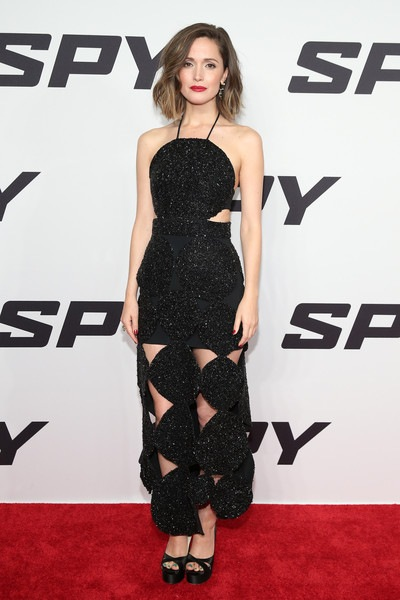 Rose Byrne Spy New York Premiere