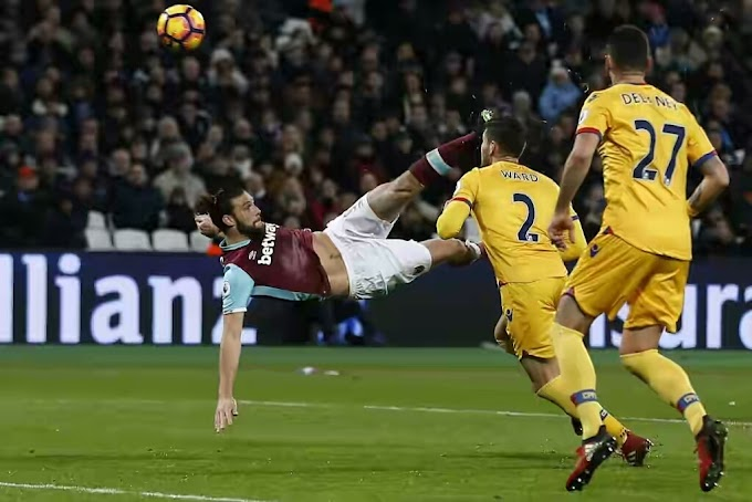You've Got To See Andy Carroll's Super Bicycle-Kick Goal vS Crystal Palace… It's A Contender!