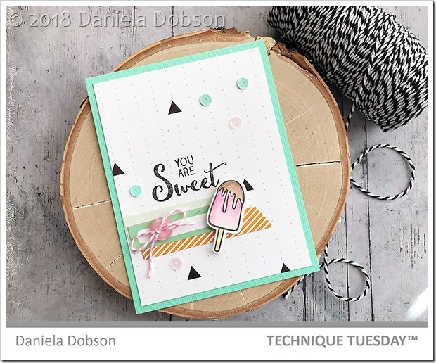 You are sweet by Daniela Dobson