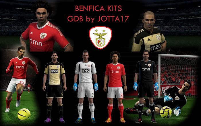 Benfica GBD Kitset - PES 2012