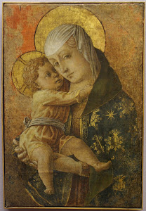 CRIVELLI, Carlo Madonna with child (detail) c1470