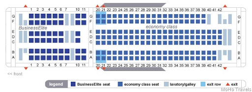 delta 767 seat map
