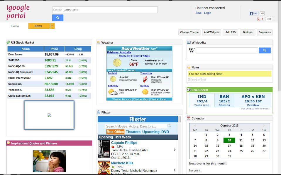 iGoogle Portal