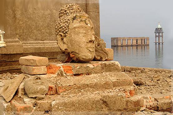 เมืองบาดาล วัดวังก์วิเวการาม จังหวัดกาญจนบุรี
