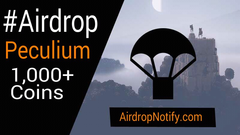 PECULIUM Coin Cryptocurrency Airdrop Alert | Free Crypto Coins