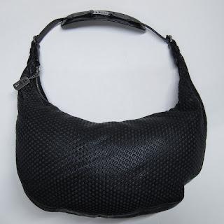 Christian Dior Perforated Leather Shoulder Bag