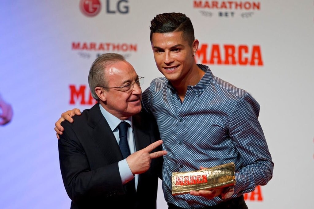 I Hope To Return To Madrid Soon - Ronaldo After Receiving MARCA Legend Award