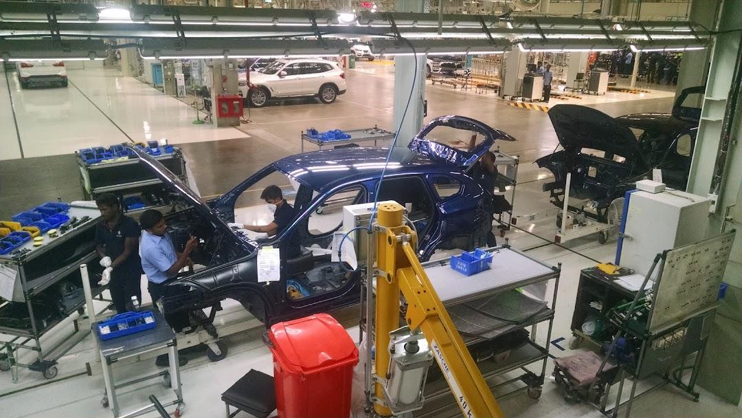 Bmw India Pvt Ltd Plant Chennai Car Factory In Kachadimangalam