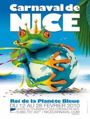 Carnaval de Nice affiche 2010