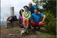 Pagogan mendiaren gailurra 1.029 m. -- 2015eko irailaren 5ean