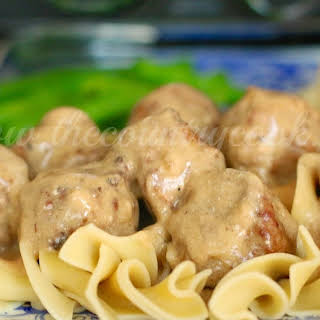 Crock Pot Swedish Meatballs.