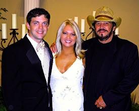 Photo: Troy Cook Jr., Christina Cochran (Jerry's Daughter)  & Jerry - Nashville Tenn 2011