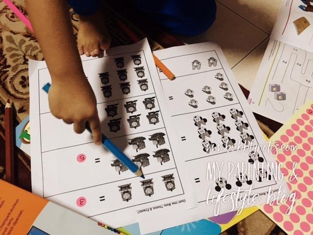 Homeschooling Activities_Idea Matematik Mudah Menggunakan Pelekat 9