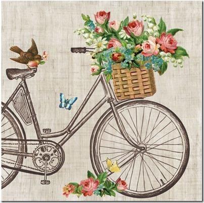imágenes de bicicletas con flores (13)