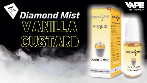 Review of Diamond Mist Vanilla Custard high VG from Vape