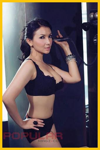 Foto Model Roro Fitria Majalah Dewasa Popular - www.elangajib.com