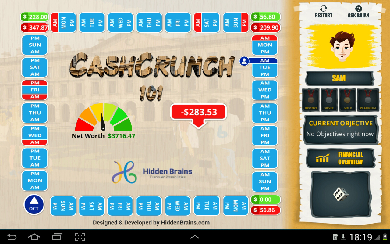 CashCrunch 101- screenshot