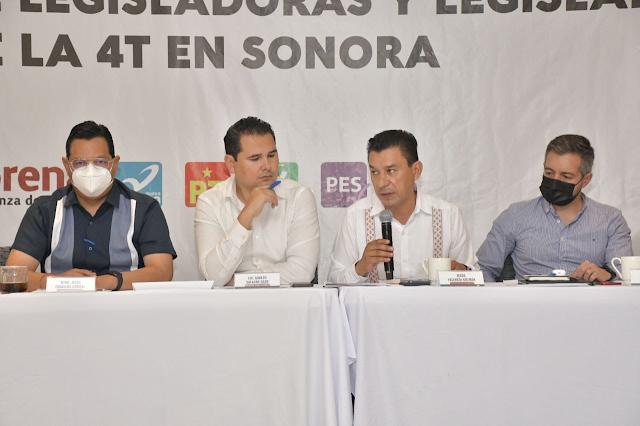 Austeridad y combate a la corrupción deben ser prioridad para los legisladores de la 4T: Alfonso Durazo