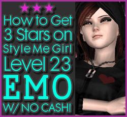 Style Me Girl  Level 23 - Emo - Kimberly - Stunning! Three Stars