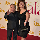 OIC - ENTSIMAGES.COM - Warwick Davis and Samantha Davis  at the  ITV Gala in London 19th November 2015 Photo Mobis Photos/OIC 0203 174 1069